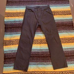 Men's Banana Republic Grey Straight Fit Pants